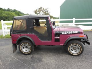 1974 Jeep Renegade - 2 Owner - 41k,  Garage Kept,  Recent Safety Inspection - V8 photo