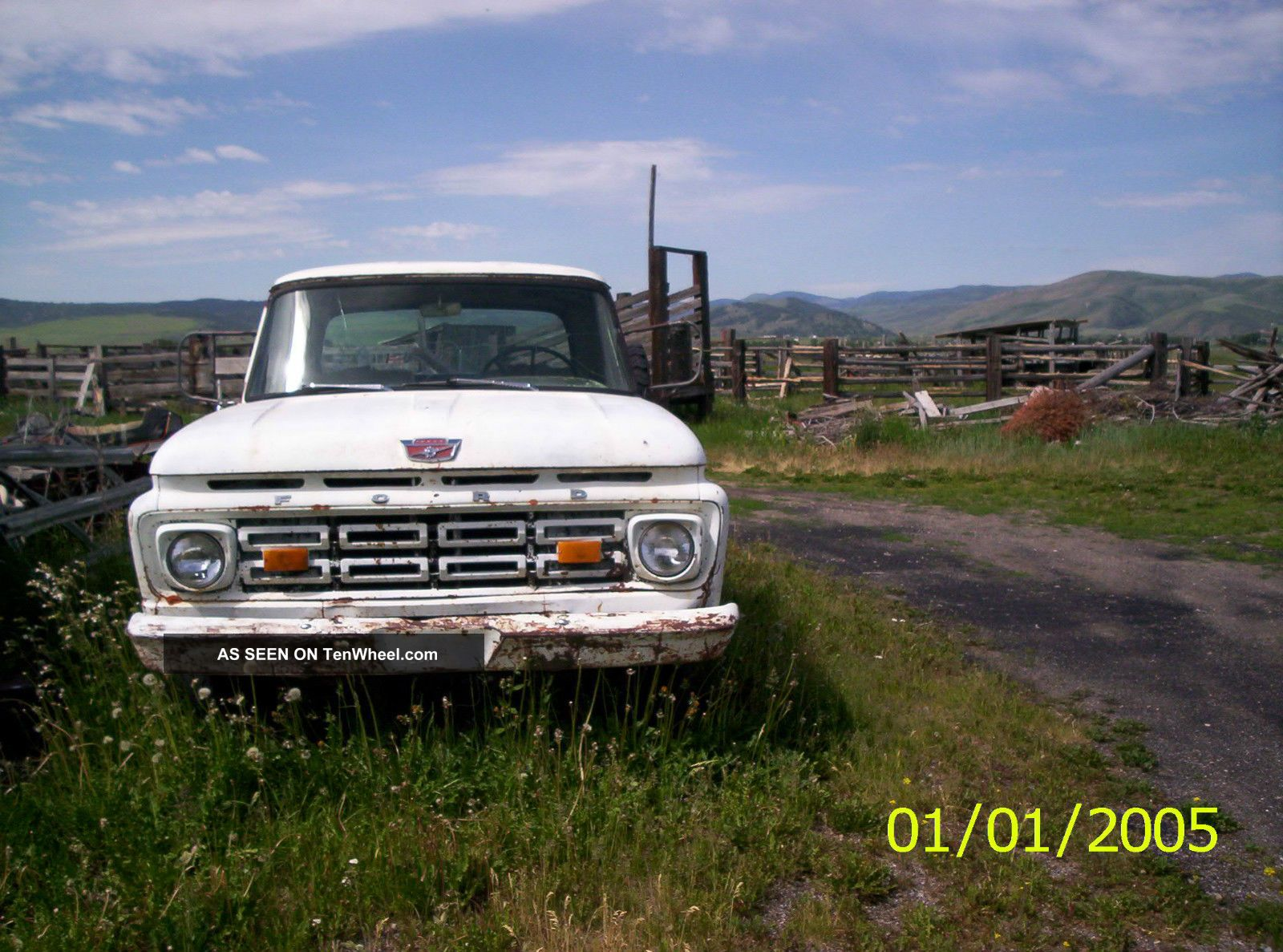 1964 ford f250 4x4 step side