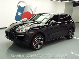 2013 Porsche Cayenne Turbo Awd Dvd 21 ' S 10k Texas Direct Auto photo