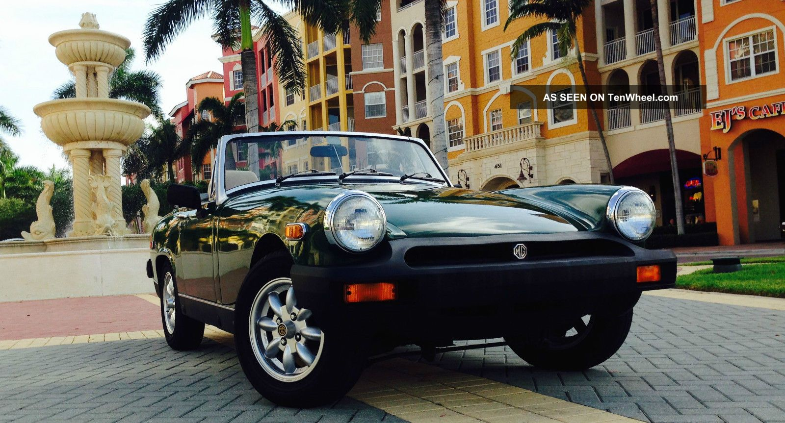 1979 Mg Midget 1500 Convertible Classic Excellent Running Condition Midget photo