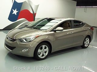 2013 Hyundai Elantra Gls Alloy Wheels 15k Texas Direct Auto photo