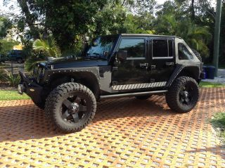 2010 Jeep Wrangler Jk Unlimited Sport Sport Utility 4 - Door 3.  8l photo