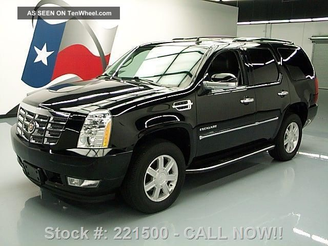 2011 Cadillac Escalade Awd 7 - Pass 49k Mi Texas Direct Auto Escalade photo