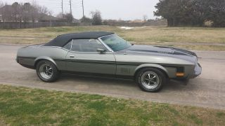 Ford Mustang Mach1 1973 photo