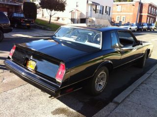 1986 Chevrolet Monte Carlo Ss photo