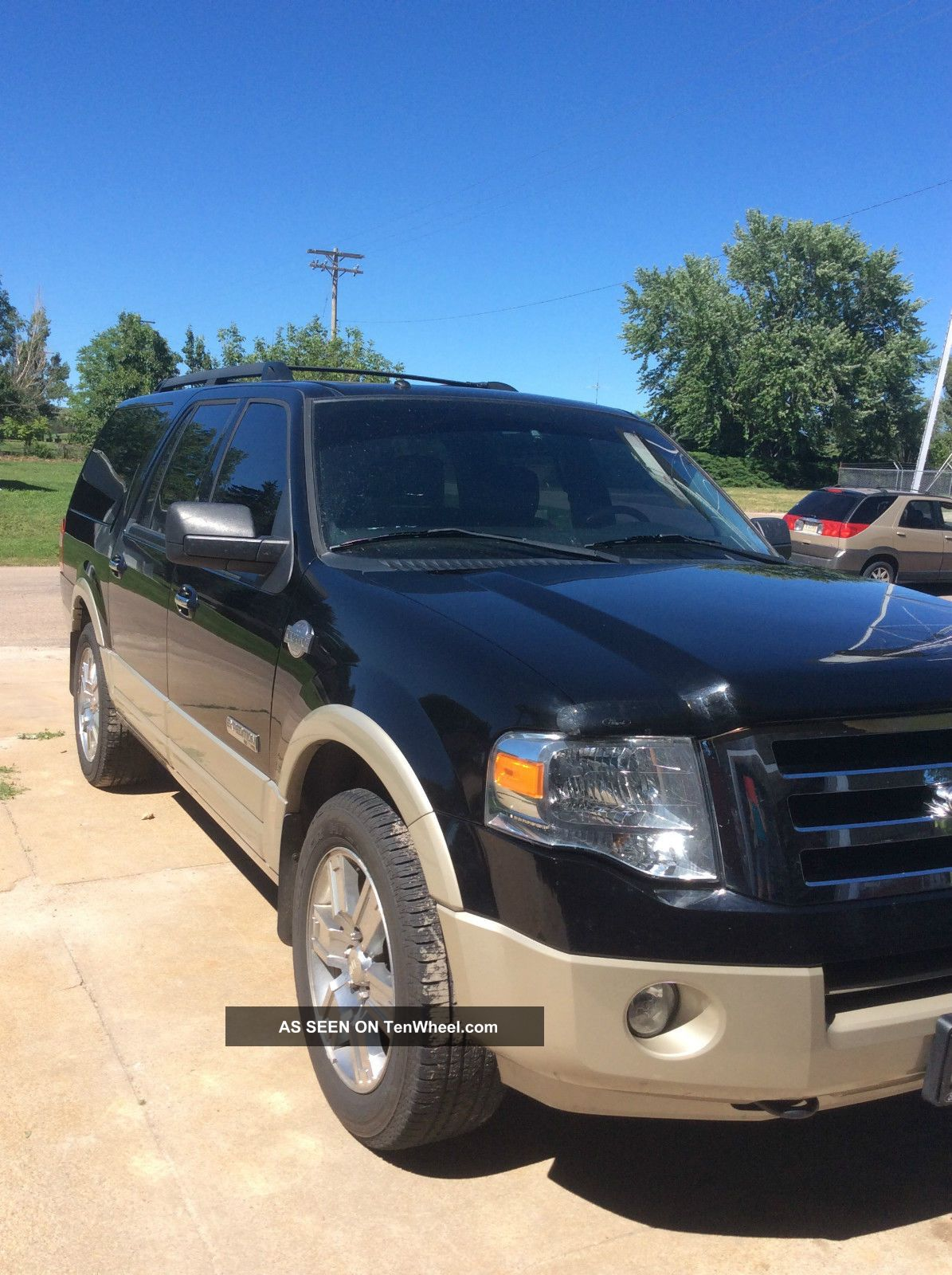 2008 ford expedition el king ranch sport utility 4 door. Black Bedroom Furniture Sets. Home Design Ideas