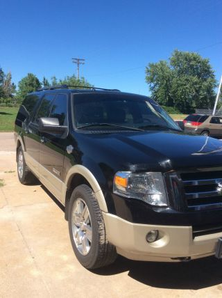 2008 Ford Expedition El King Ranch Sport Utility 4 - Door 5.  4l photo