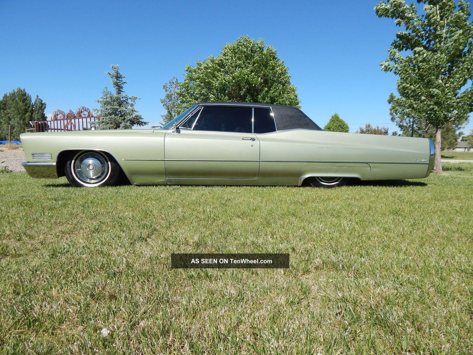 1967 Cadillac Coupe Deville W / Air Bags DeVille photo