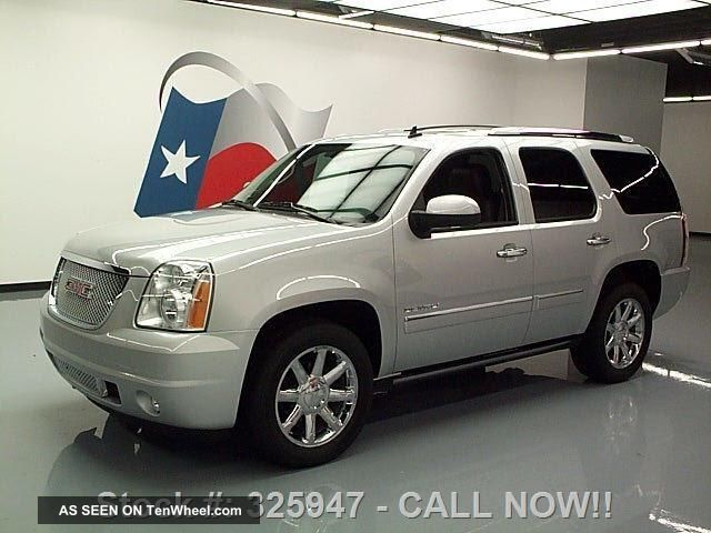 2012 Gmc Yukon Denali Dvd 20 ' S 46k Texas Direct Auto Yukon photo