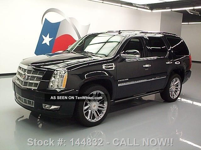 2012 cadillac escalade platinum awd hybrid 22 39 s 33k. Black Bedroom Furniture Sets. Home Design Ideas