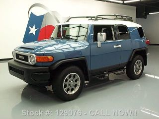 2012 Toyota Fj Cruiser 4x4 Auto Roof Rack 28k Texas Direct Auto photo