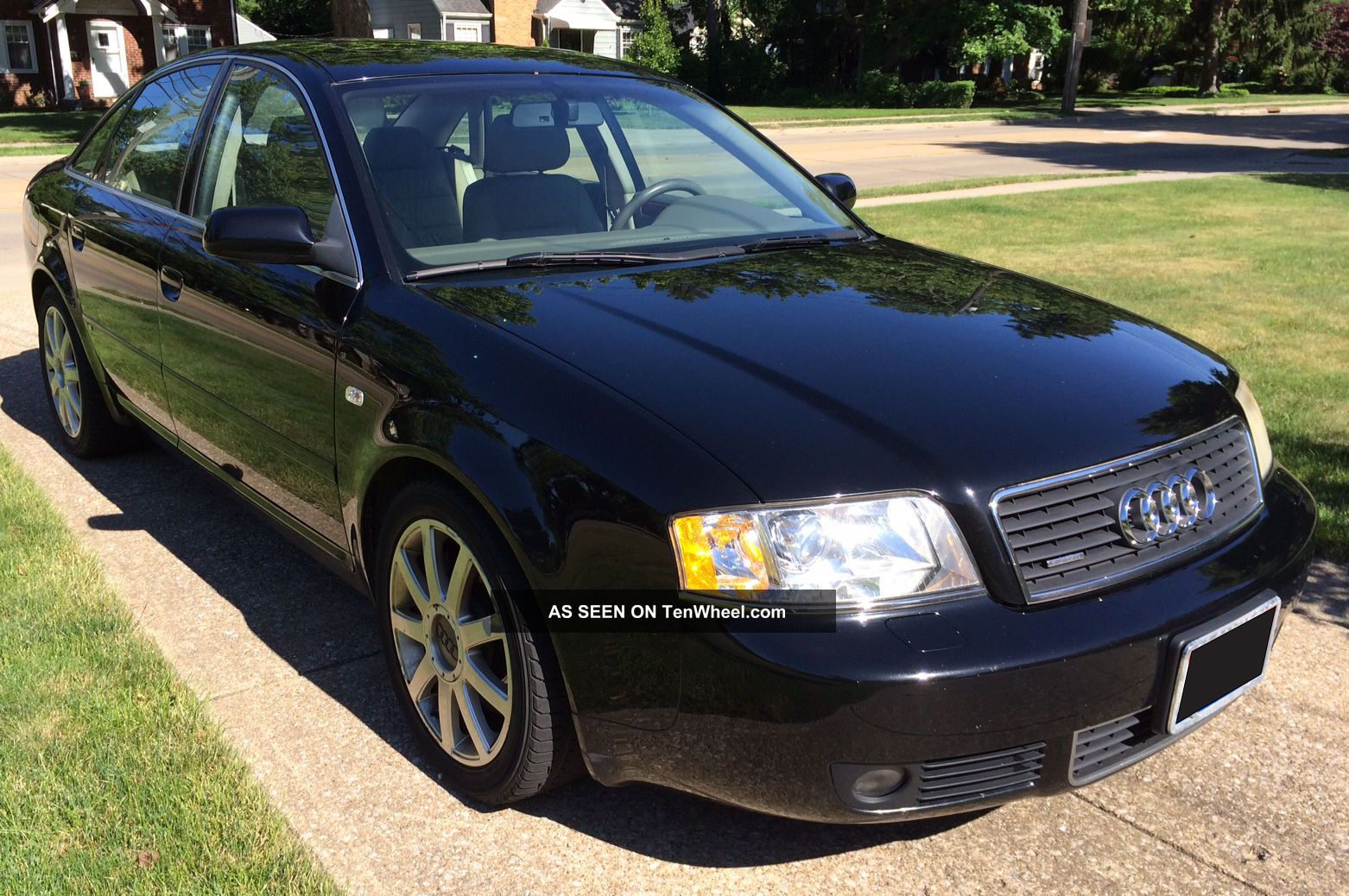 2004 audi a6 quattro s line 2 7l v6 twin turbo all wheel drive title. Black Bedroom Furniture Sets. Home Design Ideas