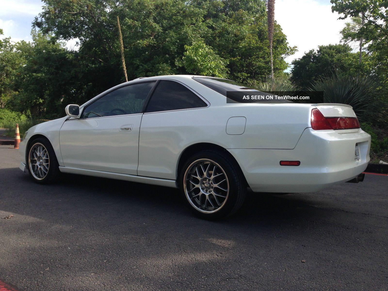 1999 Honda Accord Ex Coupe 2 Door 2 3l