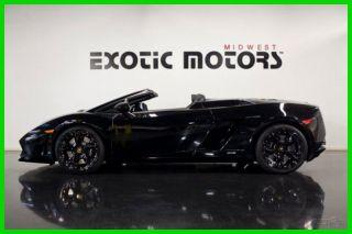2010 Lamborghini Gallardo Lp560 - 4 Spyder,  Triple Black,  4,  499mi $169,  888 photo