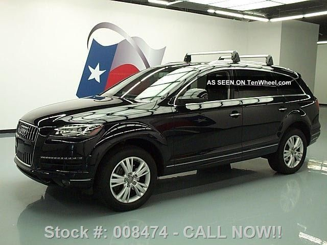 2011 audi q7 quattro tdi prem plus awd diesel pano roof texas direct auto. Black Bedroom Furniture Sets. Home Design Ideas