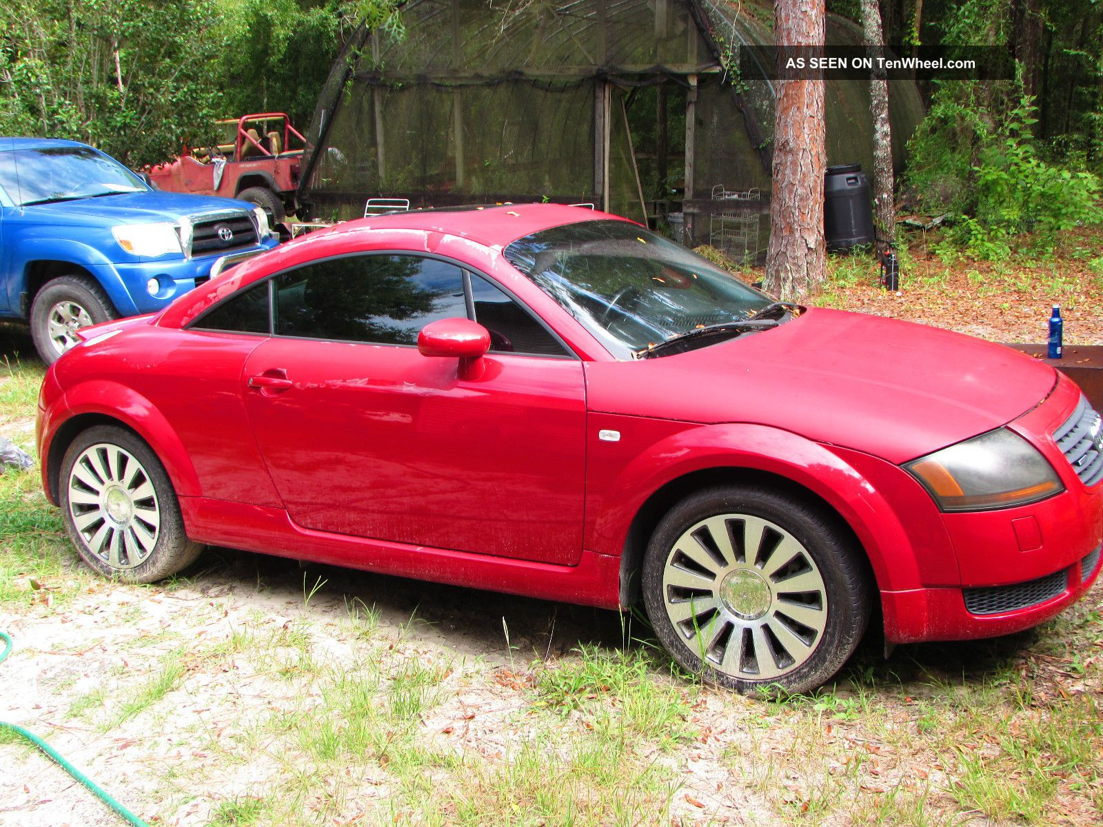 2001 Audi Tt Quattro Base Coupe 2 - Door 1.  8l Project Car TT photo