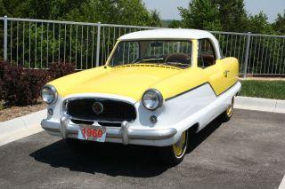 1960 Nash Metropolitan 2 Door Hardtop Coupe Series Iv photo