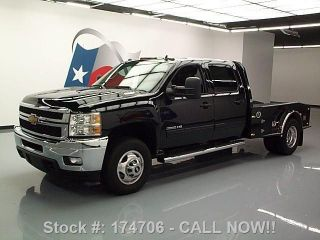 2012 Chevy Silverado 3500 Ltz Diesel Drw 4x4 Hauler 27k Texas Direct Auto photo