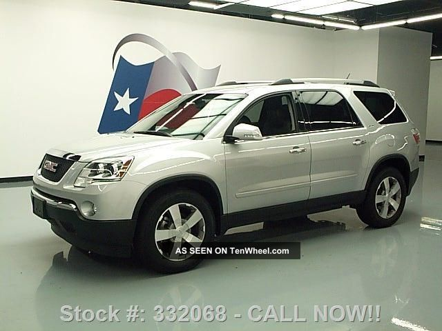 2012 Gmc Acadia Slt 7 - Pass Htd 34k Mi Texas Direct Auto Acadia photo
