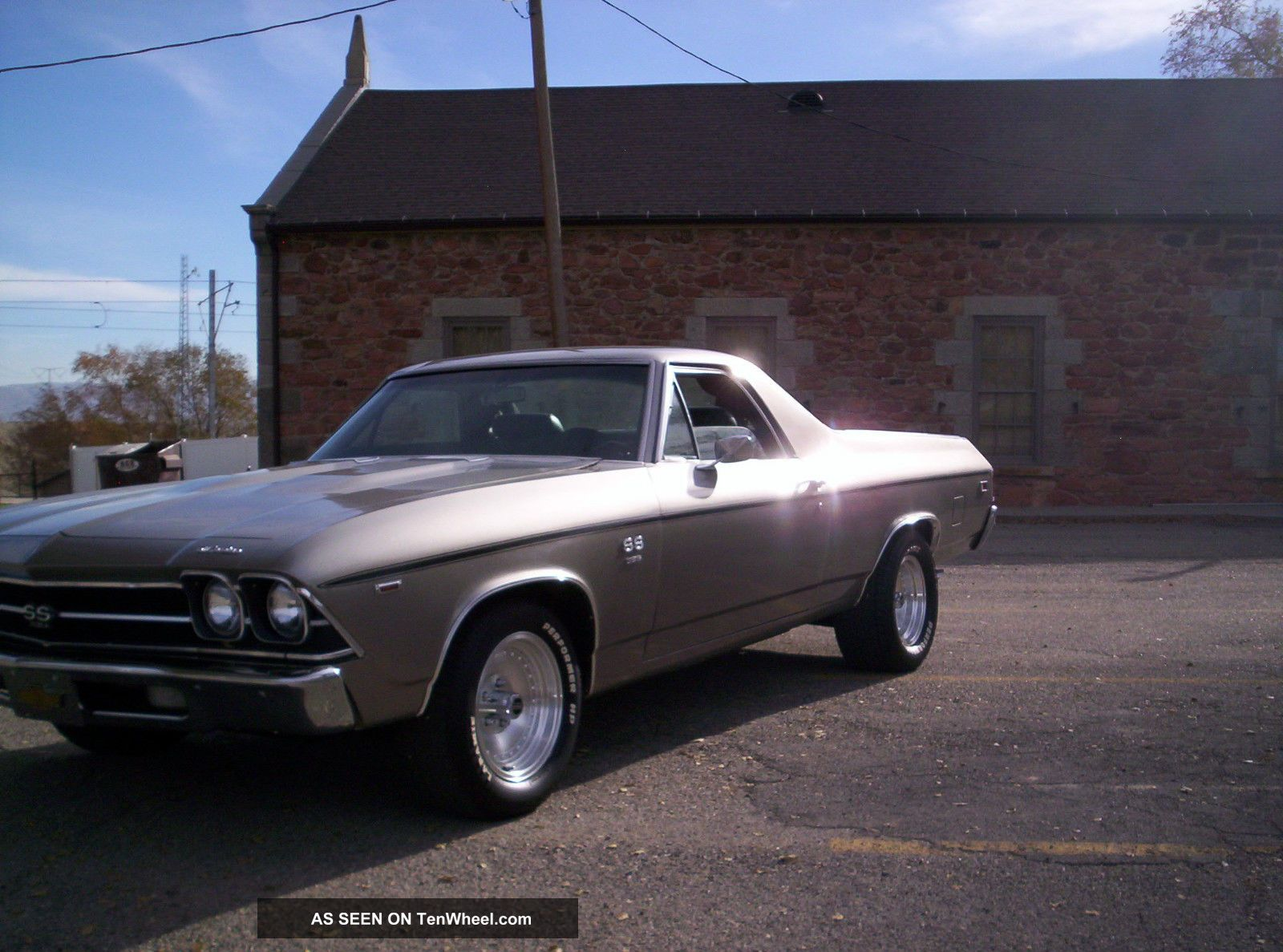 1969 Ss El Camino Numbers Matching Car Real Ss Chevell El