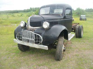 1940 Dodge Vf 401 T203 4x4 Military Army Truck Surplus 1.  5 Ton Power Wagon photo