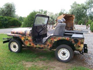 1954 Military Jeep photo