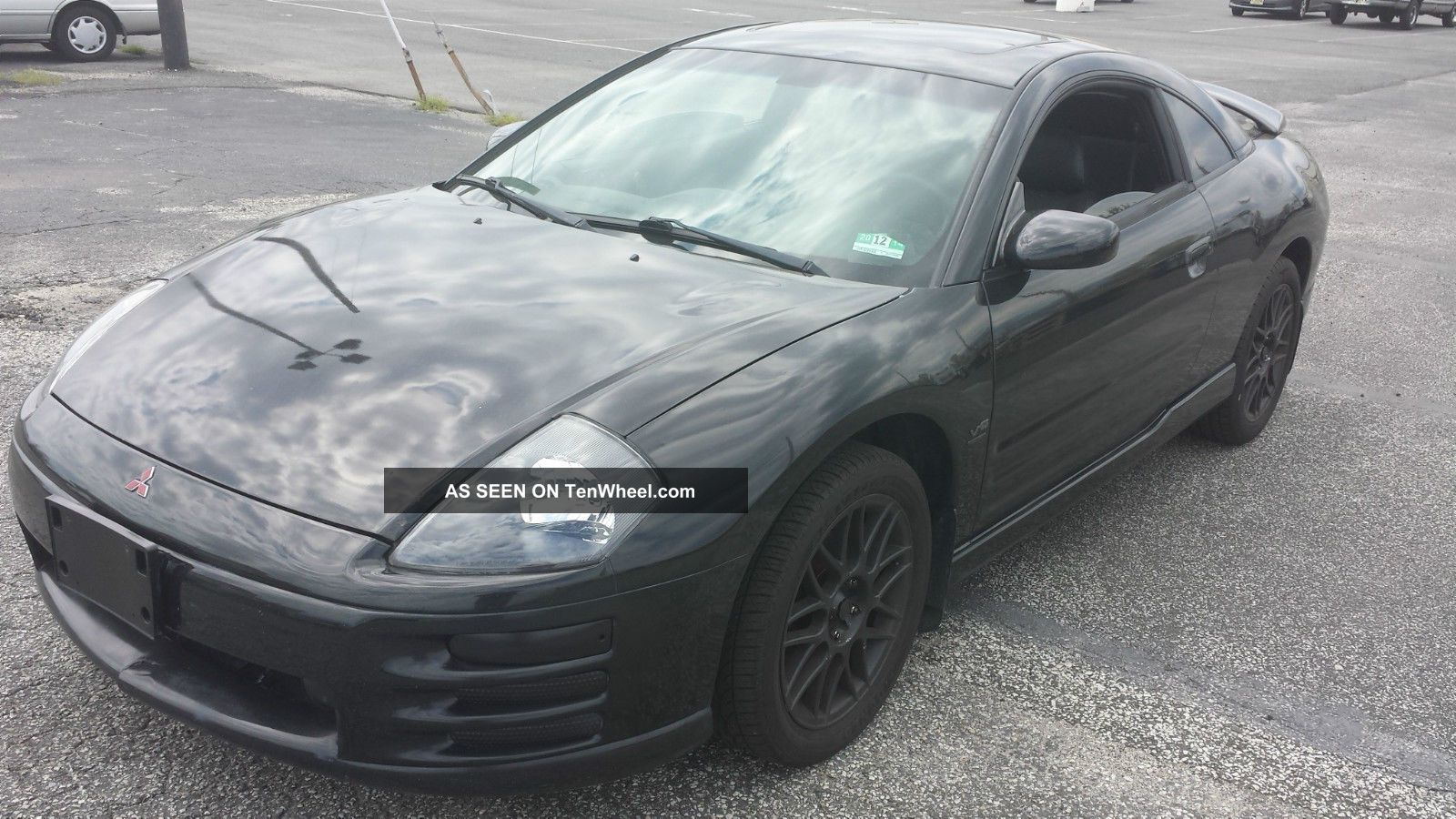 2001 Mitsubishi Eclipse Gt Coupe 2 - Door 3.  0l Eclipse photo