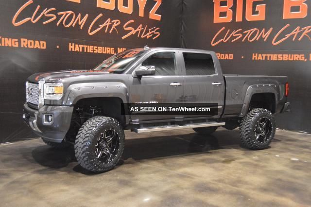Custom Lifted Gmc Denali Lgw