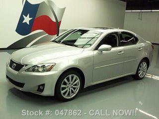 2011 Lexus Is250 Awd Vent Seats 33k Mi Texas Direct Auto photo