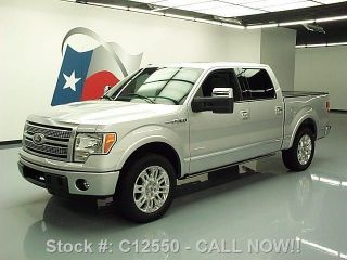 2011 Ford F - 150 Platinum Crew Ecoboost Texas Direct Auto photo