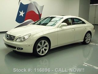 2008 Mercedes - Benz Cls550 Climate Seats 58k Texas Direct Auto photo