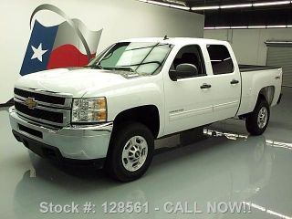2014 Chevy Silverado 2500 Hd Lt Crew 4x4 Diesel Tow 15k Texas Direct Auto photo