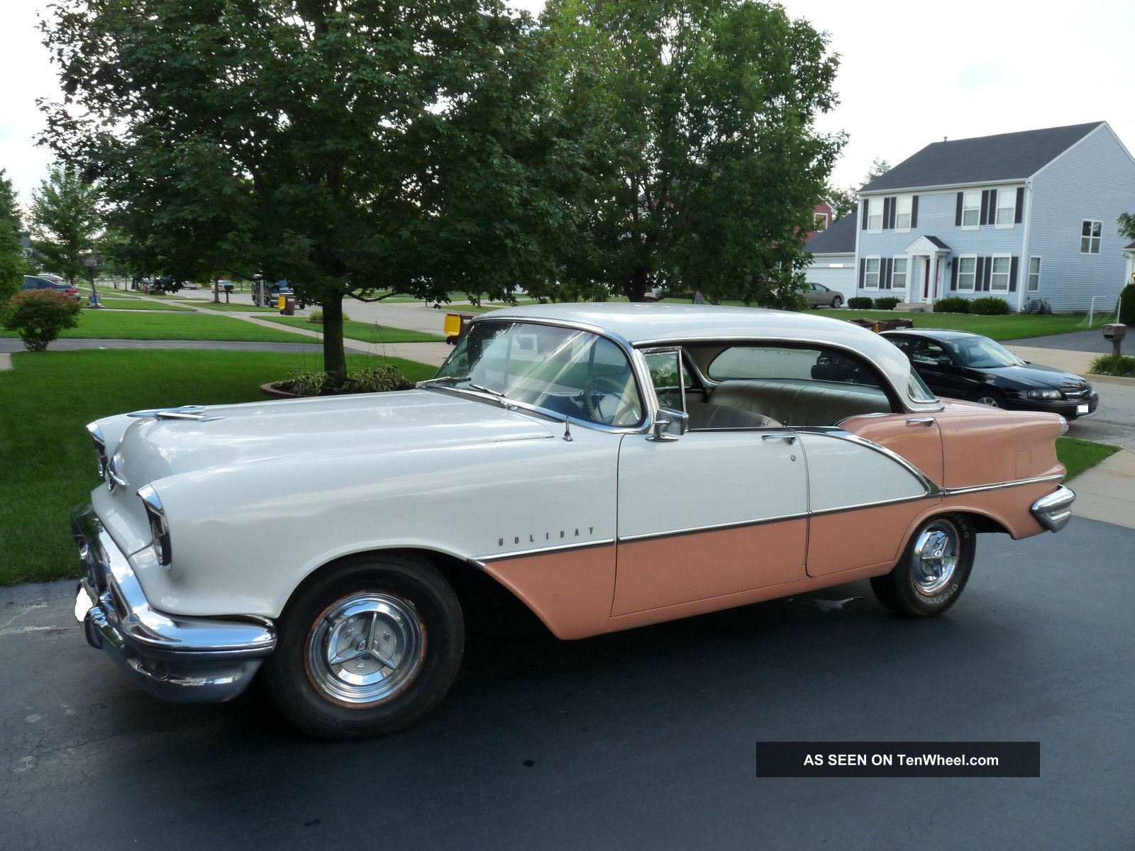 1956 Oldsmobile Holiday Delta 88 Four Door Hardtop Eighty-Eight photo