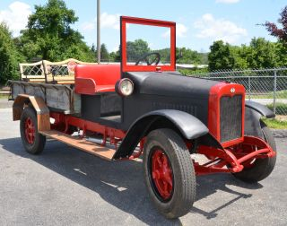 1927 International Harvester S24 1 1 / 2 Ton Pick Up Rat Rod photo