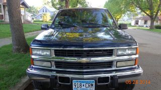 1996 Chevy Ck 2500 4 X 4 6.  5 Liter Diesel Turbo Silverado photo