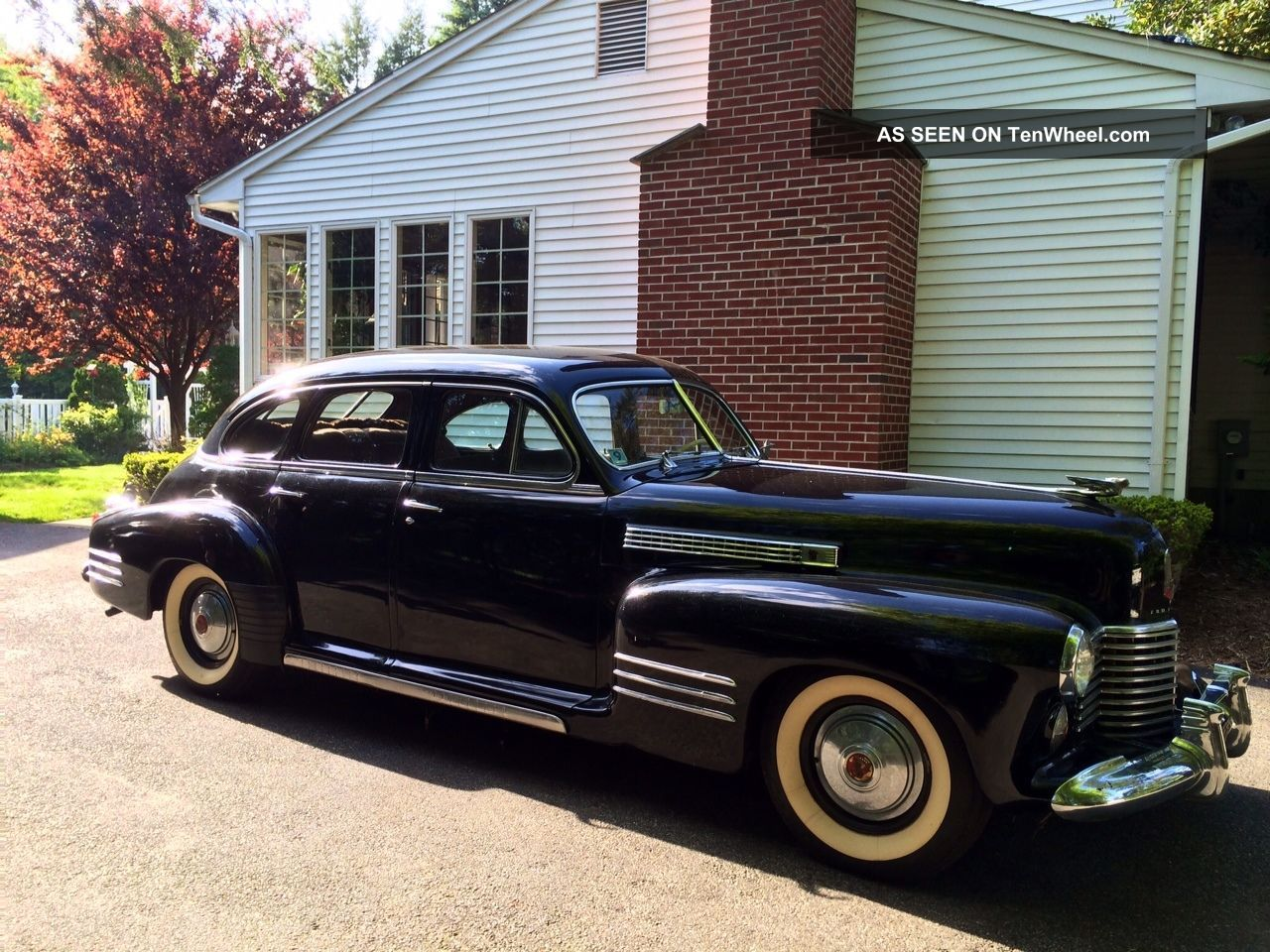 1941 Cadillac Series 63 In Black - First Caddy Automatic,  Car Show Winner Other photo