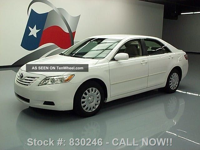 2009 Toyota Camry Sedan Automatic Cruise Ctrl Texas Direct Auto Camry photo