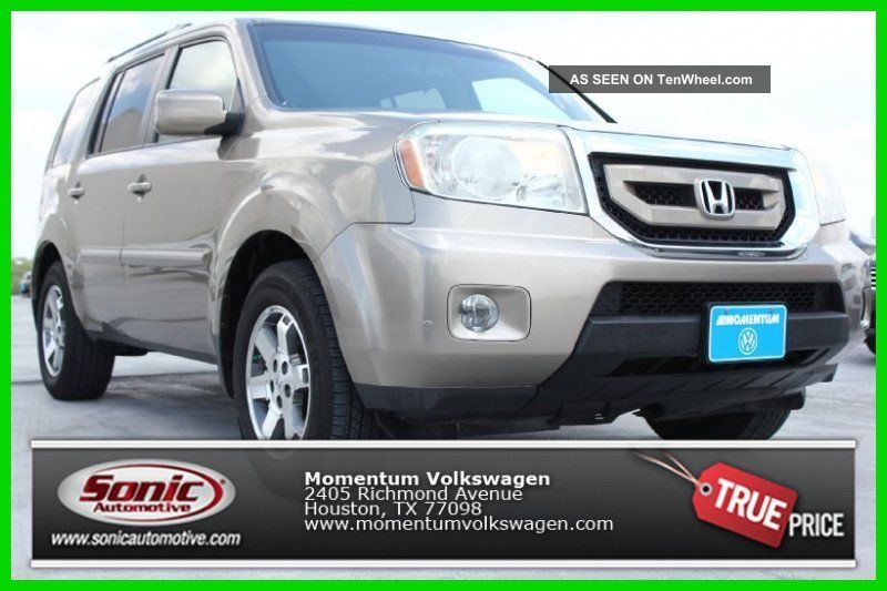 2009 Touring (2wd 4dr Touring W / Navi) 3.  5l V6 24v Fwd Suv Pilot photo