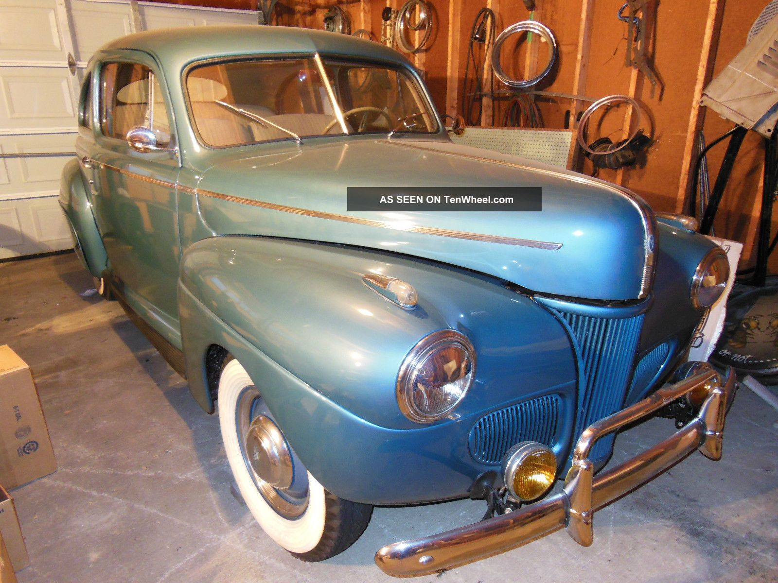 1941 Ford Sedan V8 Flat Head Motor Clear Title 90hp All. Other photo