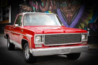 1978 C - 10 Short Bed White & Red photo