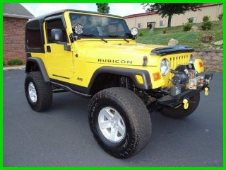 2006 Rubicon 4l I6 12v Manual 4wd Suv photo