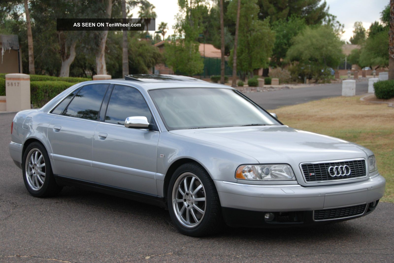 2002 Audi D2 S8 Rust Arizona Car S8 photo