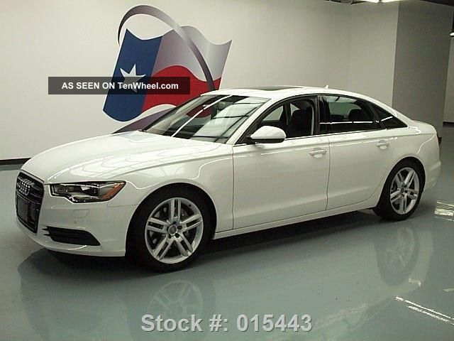 2014 Audi A6 2.  0t Quattro Premium Plus Awd Texas Direct Auto A6 photo