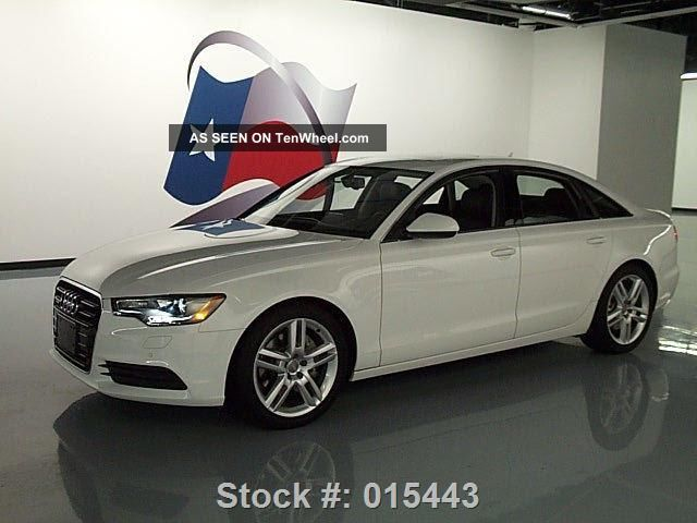 2014 audi a6 2 0t quattro premium plus awd texas direct auto. Black Bedroom Furniture Sets. Home Design Ideas