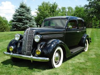 1936 Dodge Brothers D2 Touring Model Sedan photo