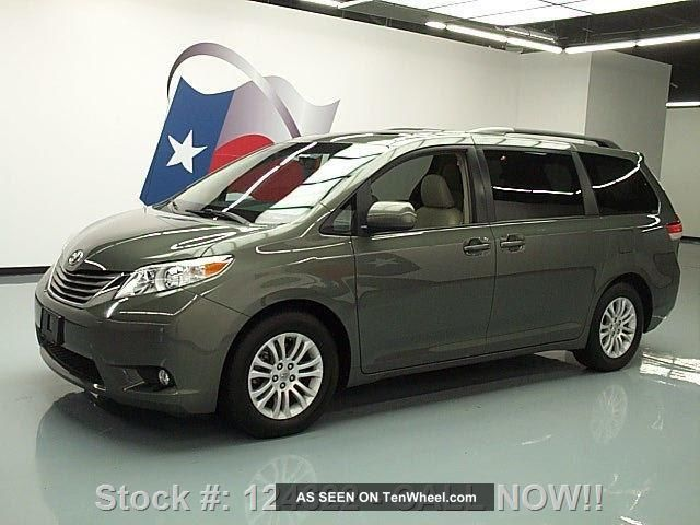 2011 Toyota Sienna Xle 7pass 54k Texas Direct Auto Sienna photo
