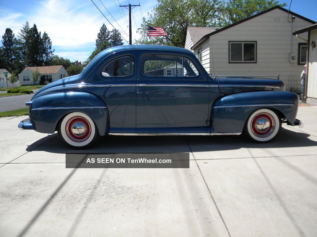 1948 Ford Coupe Street Rod Hot Rod