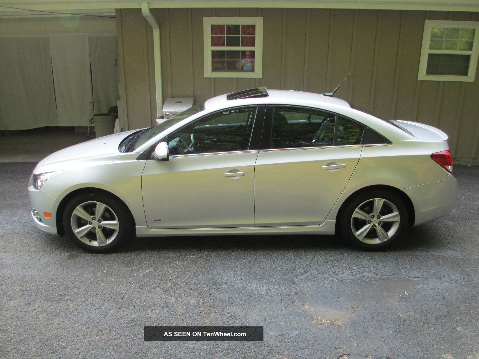 2012 Chevrolet Cruze 2lt Ltz Rs