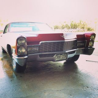 1968 Cadillac Deville Base Hardtop 2 - Door 7.  7l photo