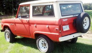 1967 Ford Bronco U15 289 4wd photo